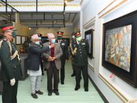 नेपाली सेनाले मनायो पृथ्वी जयन्ती तथा राष्ट्रिय एकता दिवस,तस्वीरमा हेर्नुहोस