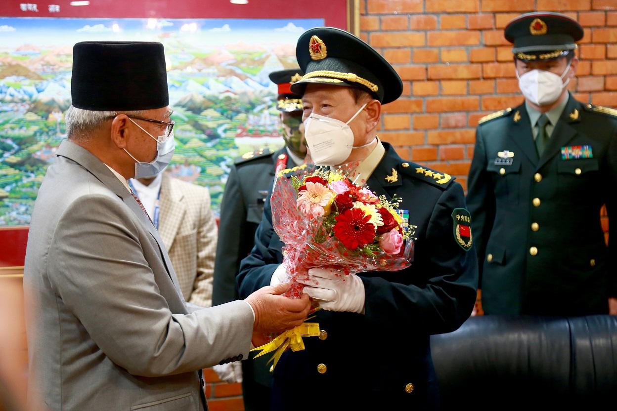चिनियाँ रक्षामन्त्री जनरल वेई फेंग्हे काठमाडौँमा (फोटो फिचर)